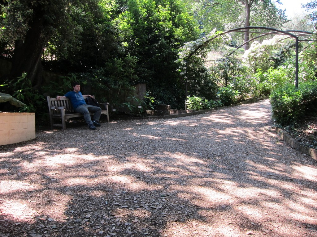 Relaxing at the Giardino Bardini